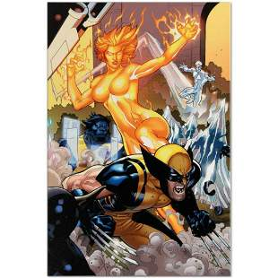 "Marvel Comics ""Secret Invasion: X-Men #4"" Numbered"