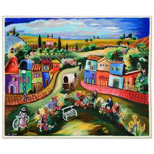 """Shlomo Alter, """"Busy Day in the Country"""" Limited Edition"""