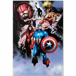 """Marvel Comics """"Avengers #99 Annual"""" Numbered Limited"""