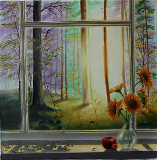 "Alexander Borewko- Original Oil on Canvas ""Heaven's"
