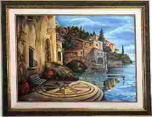 "Alexander Borewko- Original Oil on Canvas ""By The"