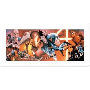 """Stan Lee Signed, """"Civil War #1"""" Numbered Marvel Comics"""