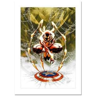 """Stan Lee Signed, """"Civil War #3"""" Numbered Marvel Comics"""
