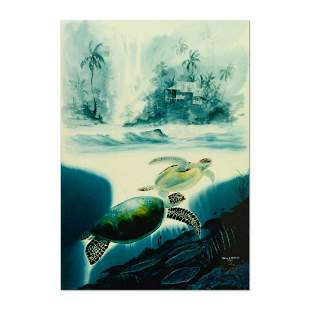 "Wyland & James Coleman, ""Turtle Waters"" Limited Edition"