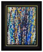 """Wyland- Original Watercolor """"Pollack Coral Reef"""""""