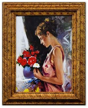 Igor Semeko- Hand Embellished Giclee on Canvas