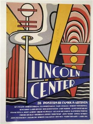 Roy Lichtenstein Original Screenprint in colors on