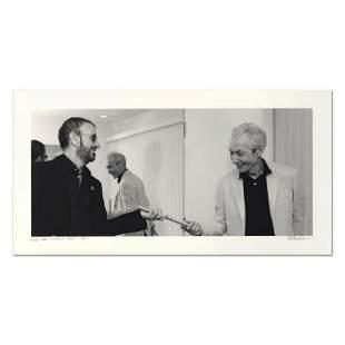 "Rob Shanahan, ""Ringo Starr & Charlie Watts"" Hand Signed"