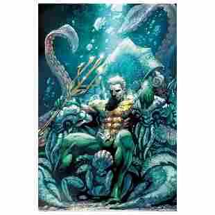 "DC Comics, ""Aquaman #18"" Numbered Limited Edition"