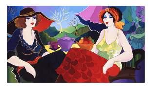 "Patricia Govezensky- Original Giclee on Canvas ""Rest in"