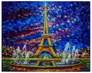 "Svyatoslav Shyrochuk- Original Giclee on Canvas ""Paris"
