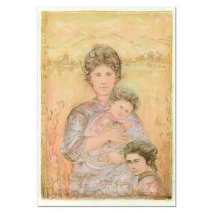 """Edna Hibel (1917-2014), """"Tatyana's Family"""" Limited"""