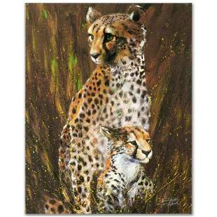 """""""Mother and Child"""" Limited Edition Giclee on Canvas by"""