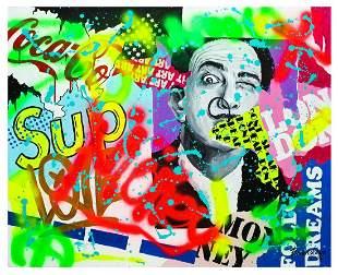 "Nastya Rovenskaya- Original Oil on Canvas ""SUP"""
