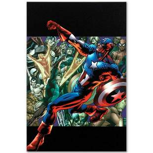 """Marvel Comics """"Captain America: Man Out of Time #5"""""""