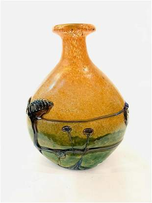 Jean-Claude Novaro Hand blown one of a kind glass