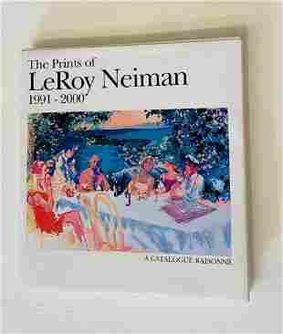Leroy Neiman Hardcover Book