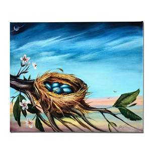"""""""Life Begins"""" Limited Edition Giclee on Canvas by"""