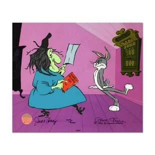 "Chuck Jones ""Rabbit Recipes"" Hand Signed, Hand Painted"