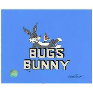 "Chuck Jones ""Title ""Bugs Bunny"""" Hand Signed, Hand"