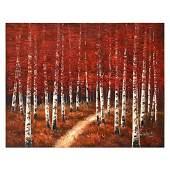 "Zahra, Original Oil Painting (40"" x 30"") on Canvas,"