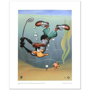 """""""Underwater Daffy"""" Limited Edition Giclee from Warner"""