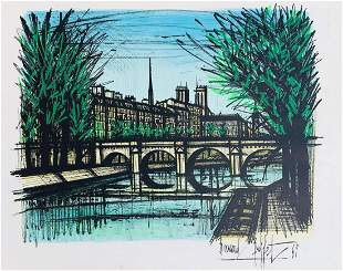 Bernard Buffet  Lithograph on paper