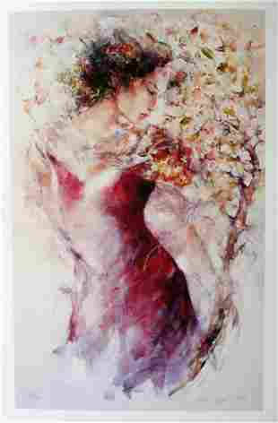 """Gary Benfield """"Flora"""" Giclee on Paper"""