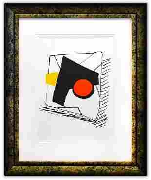 "Alexander Calder- Lithograph ""DLM221 - Composition"