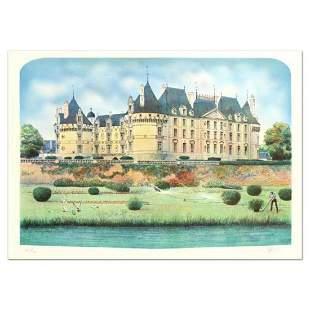 """Rolf Rafflewski, """"Chateau"""" Limited Edition Lithograph,"""