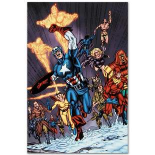 "Marvel Comics ""Avengers/Invader #11"" Numbered Limited"