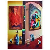 "Ferjo, ""Wondrous Master1"" Original Painting on Canvas,"
