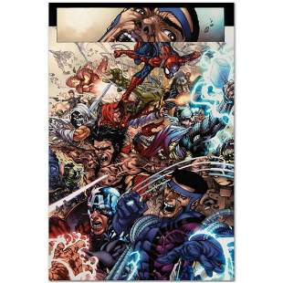 """Marvel Comics """"Avengers: The Initiative #19"""" Numbered"""