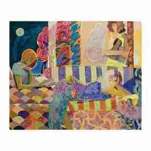 "Sabzi, ""Summer Evening"" Limited Edition Hand"