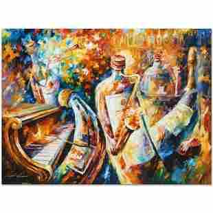 """Leonid Afremov (1955-2019) """"Bottle Jazz I"""" Limited"""
