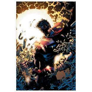 """DC Comics, """"Superman Unchained"""" Numbered Limited"""