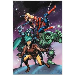 "Marvel Comics ""Avengers and the Infinity Gauntlet #3"""