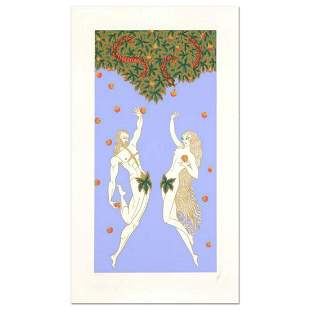 """Erte (1892-1990), """"Adam and Eve"""" Limited Edition"""