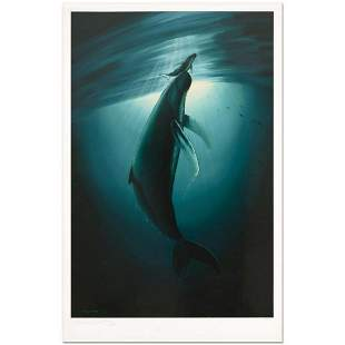"""Wyland, """"The First Breath"""" Limited Edition Lithograph,"""