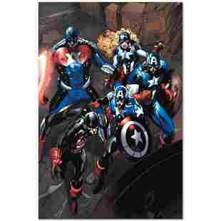 """Marvel Comics """"Captain America Corps #2"""" Numbered"""