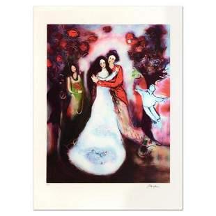 "Raya Sorkine, ""Le Mariage"" Limited Edition Lithograph,"