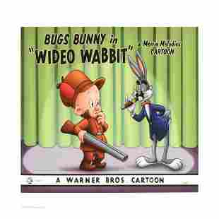 """""""Wideo Wabbit"""" Limited Edition Giclee from Warner"""