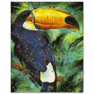 """""""Toucan"""" Limited Edition Giclee on Canvas by Stephen"""