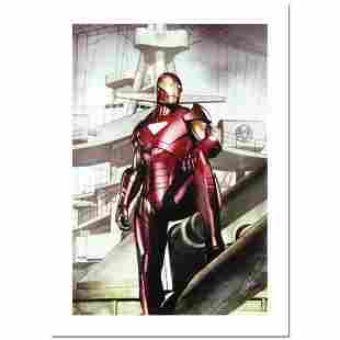 """Stan Lee Signed, """"Iron Man: Director of S.H.I.E.L.D."""