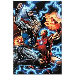 """Marvel Comics """"Iron Man/Thor #3"""" Numbered Limited"""