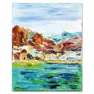 """Elliot Fallas, """"Quiet Cove"""" Original Oil Painting on"""