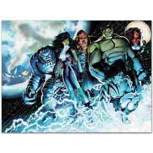 "Marvel Comics ""Incredible Hulks #615"" Numbered Limited"