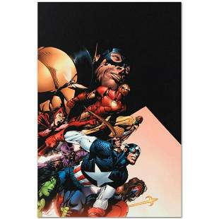 """Marvel Comics """"Avengers #500"""" Numbered Limited Edition"""