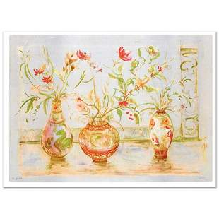 """""""Chinese Vase"""" Limited Edition Lithograph (42"""" x 29.5"""")"""