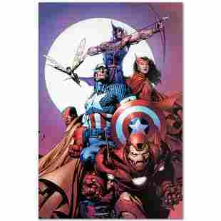 """Marvel Comics """"Avengers #80"""" Numbered Limited Edition"""